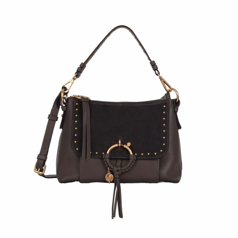SEE BY CHLOÉ - Joan Small Shoulder Bag - Lava Brown