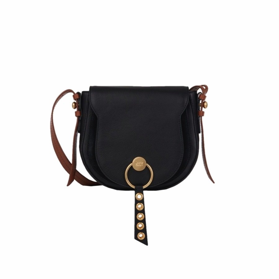 SEE BY CHLOÉ - Lumir Crossbody Bag - Black