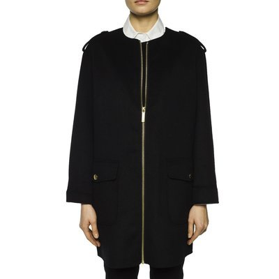 MICHAEL KORS - Cappotto di lana - Black