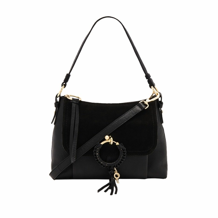SEE BY CHLOÉ - Joan Small Shoulder Bag - Black