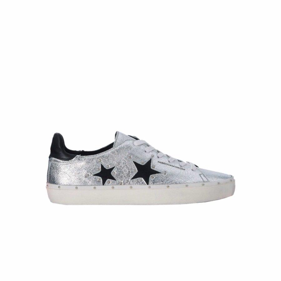 REBECCA MINKOFF - Michell Sneakers - Silver/Black