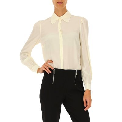 MICHAEL KORS - Camicia in seta - Bone