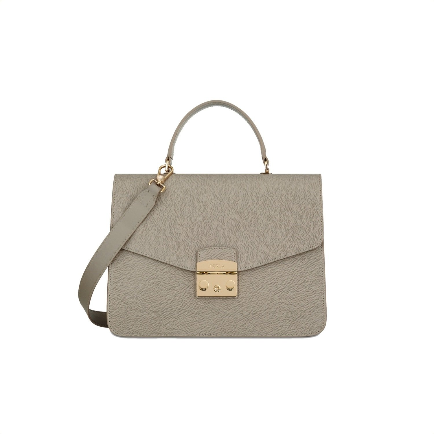 FURLA - Metropolis M Top Handle - Sabbia