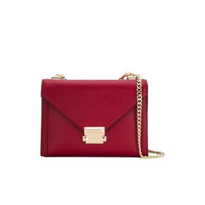 MICHAEL KORS - Whitney LG Shoulder Bag - Maroon