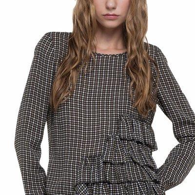 PATRIZIA PEPE - Camicia casacca - British Tweed