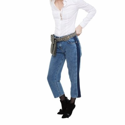 PATRIZIA PEPE - Jeans a vita alta - Soft Blue