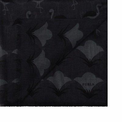 FURLA - Pin Stola stampa fenicotteri - Onyx