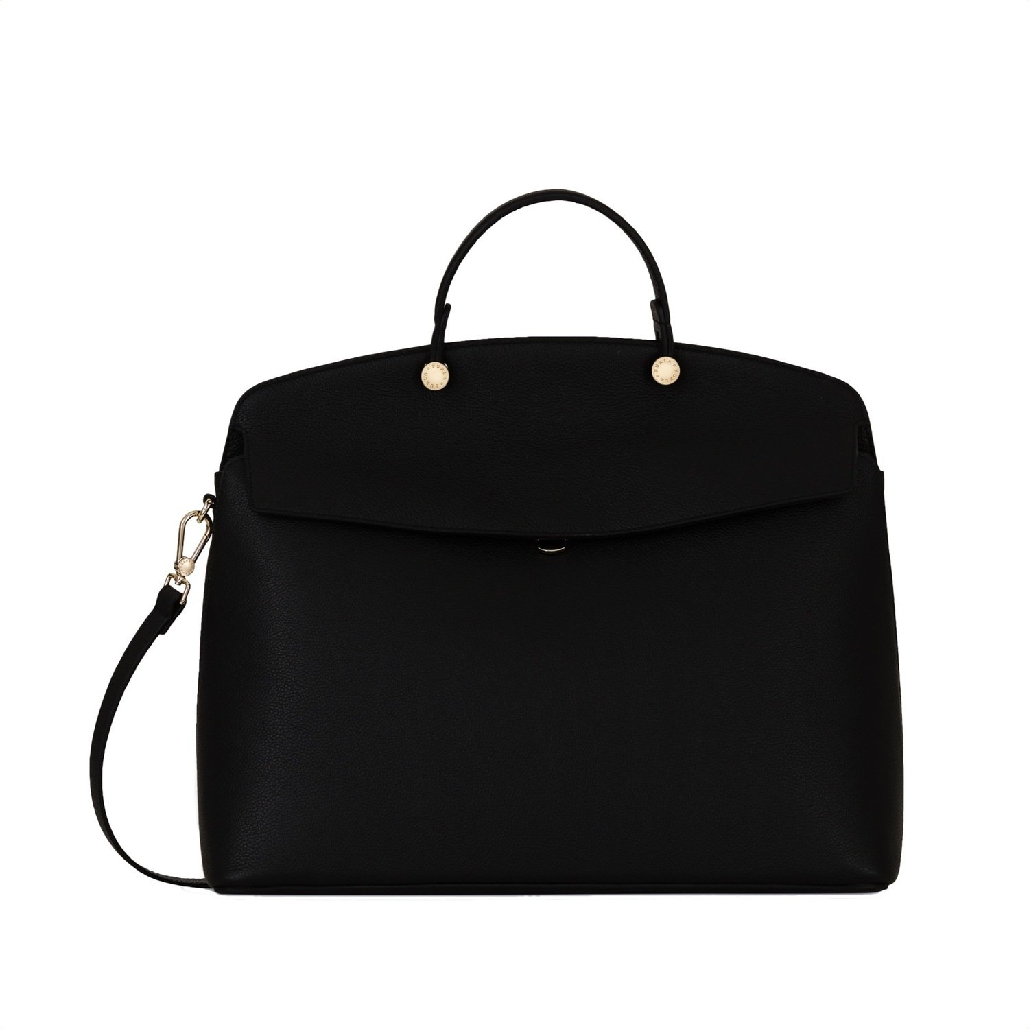 FURLA - MY Piper L Top Handle - Onyx