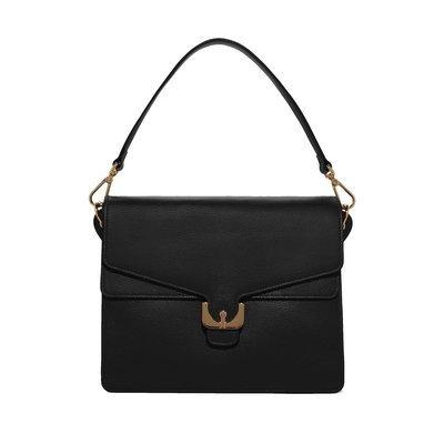 COCCINELLE - Ambrine borsa grande in pelle - Noir