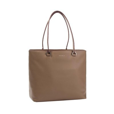 COCCINELLE - Keyla borsa shopping in pelle - Taupe