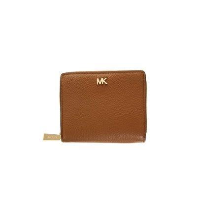 MICHAEL KORS - Money Pieces Zip Around Snap Wallet - Acorn