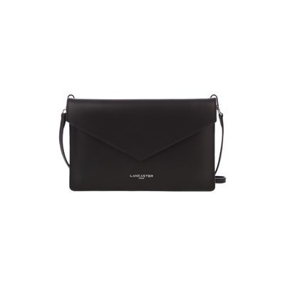LANCASTER - Pur Smooth Clutch Air - Noir in Rouge