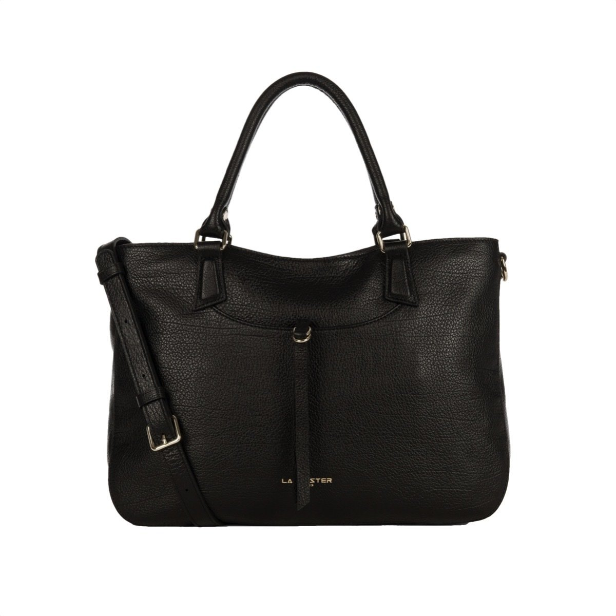 LANCASTER - Large Handle Bag - Noir