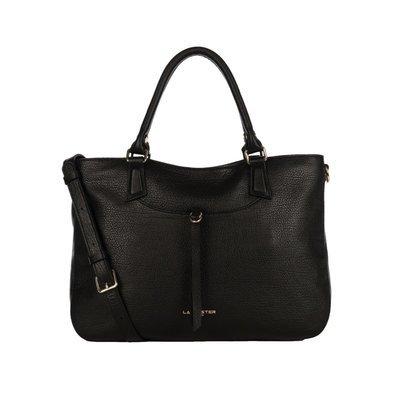 LANCASTER - Large Handle Bag - Noir
