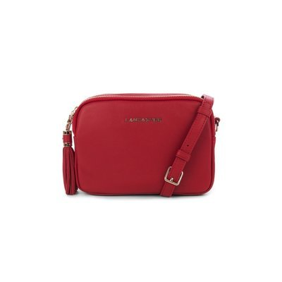 LANCASTER - Ana Mini Crossbody Bag - Rouge