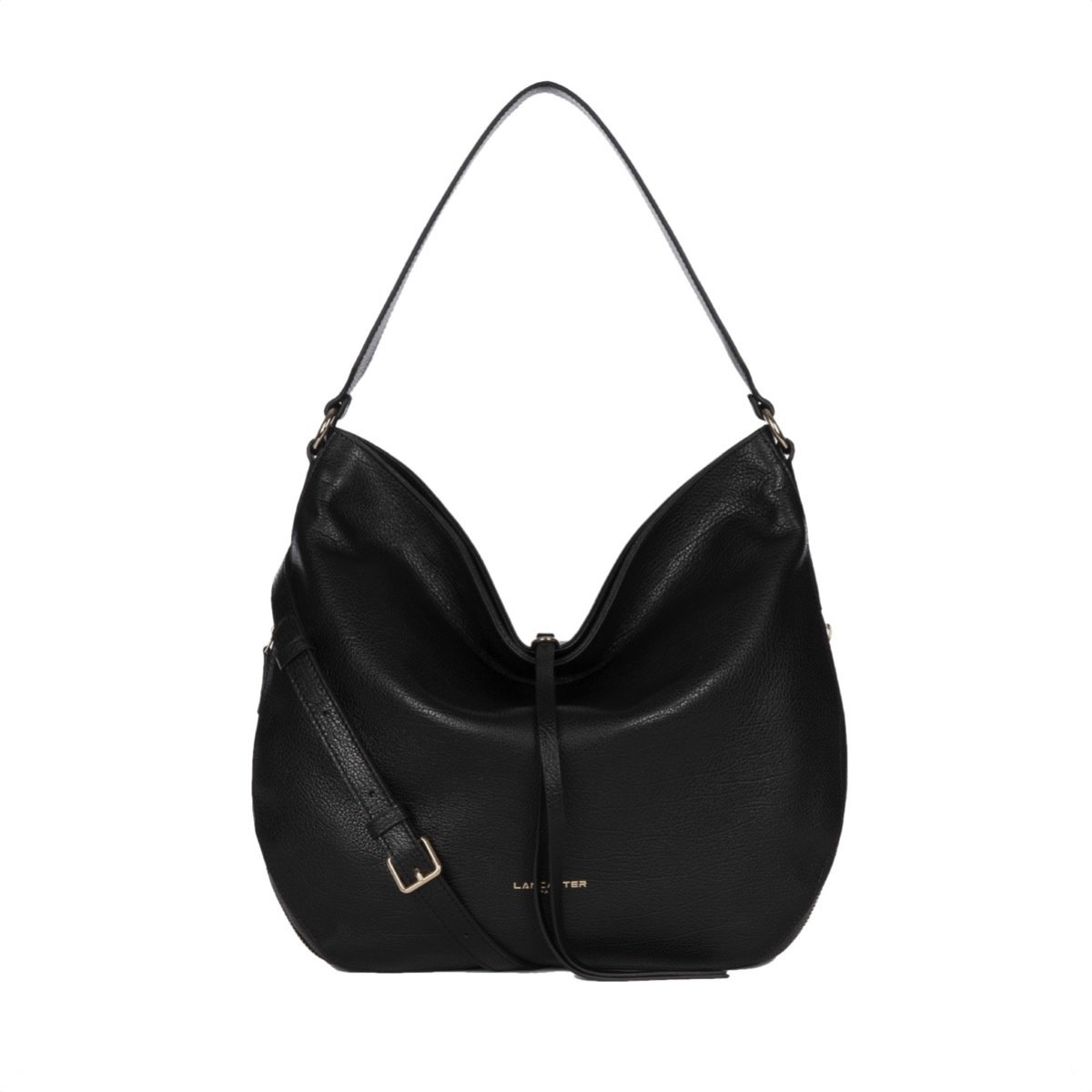 LANCASTER - Dune Large shoulder bag - Noir