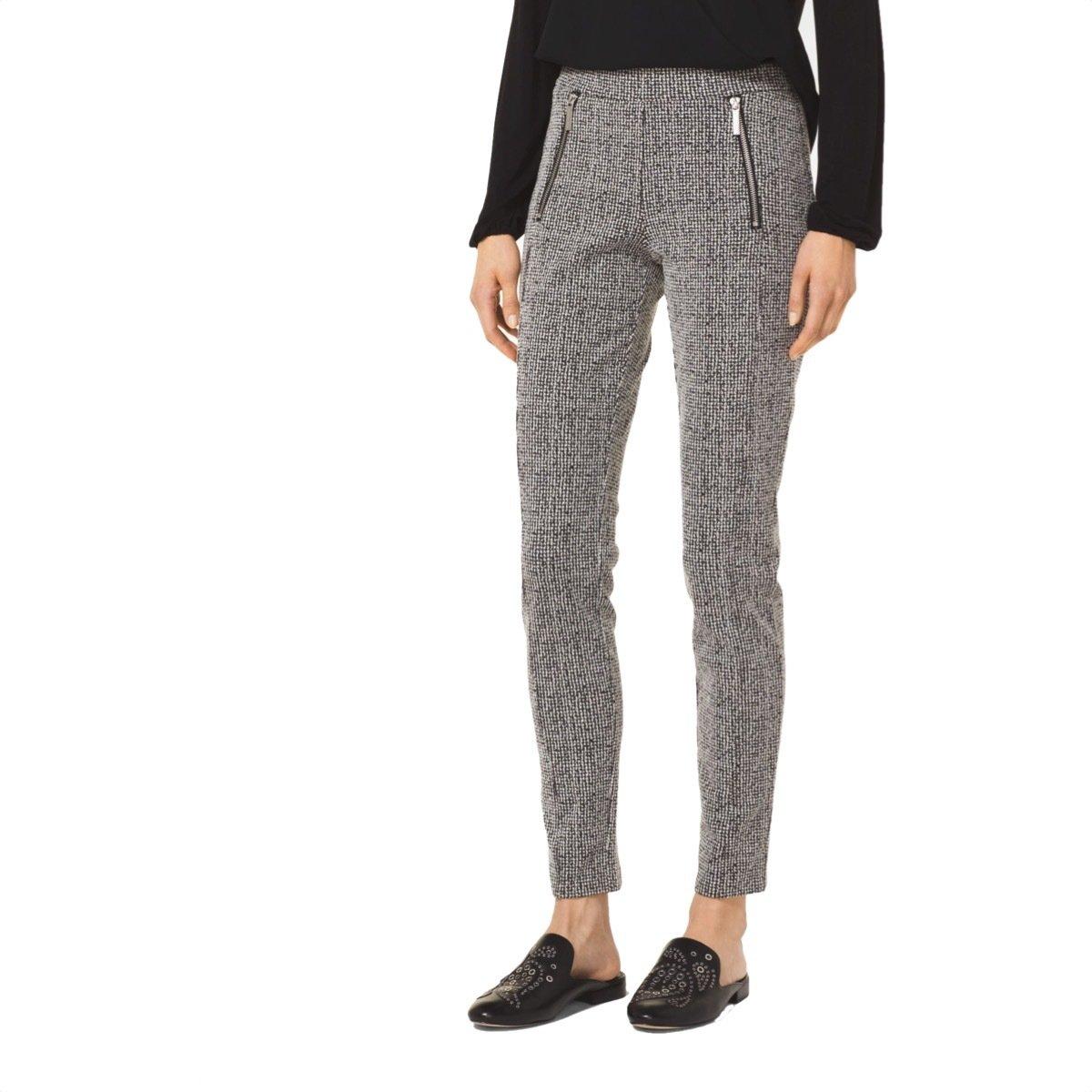 MICHAEL KORS - Pantaloni skinny - Black/White