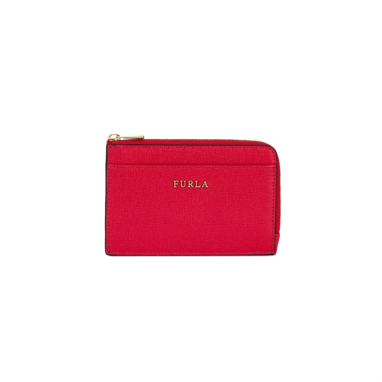 FURLA - Portafoglio Babylon M Credit Card Case - Ruby
