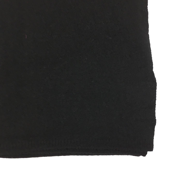 COCCINELLE - Marlene Sciarpa in lana e cashmere - Noir
