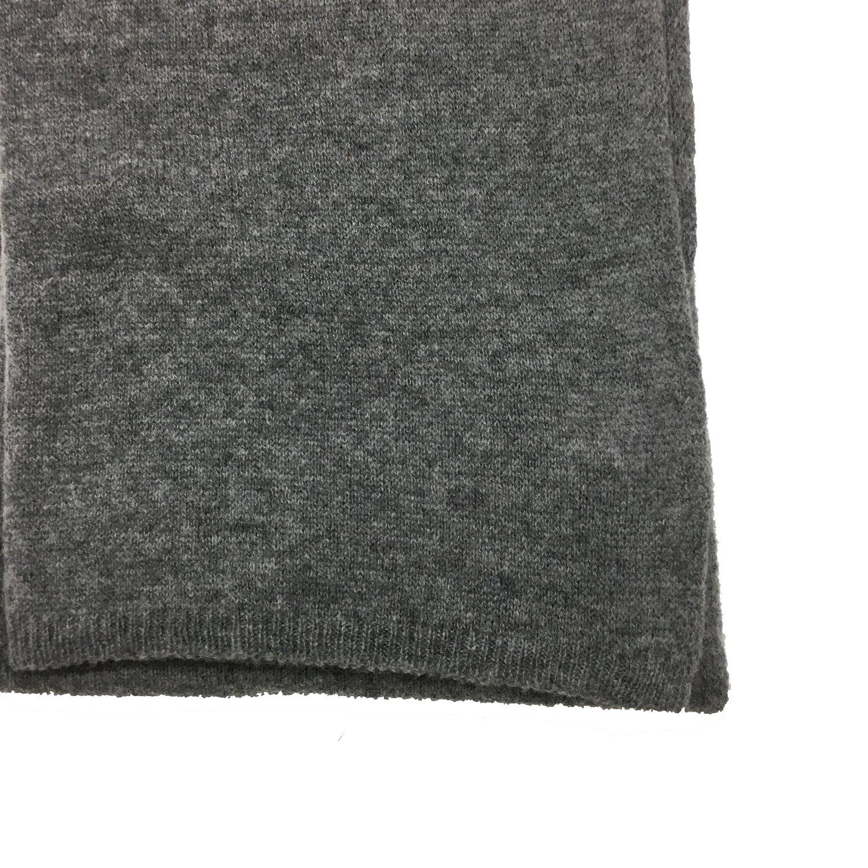 COCCINELLE - Marlene Sciarpa in lana e cashmere - Fumè