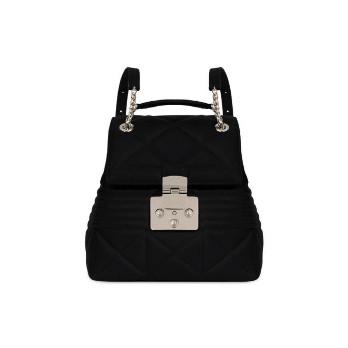 FURLA - Fortuna S Backpack - Onyx