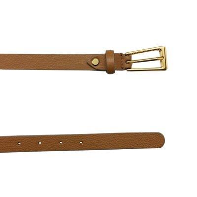 COCCINELLE - Cintura Liya in pelle - Cuoio