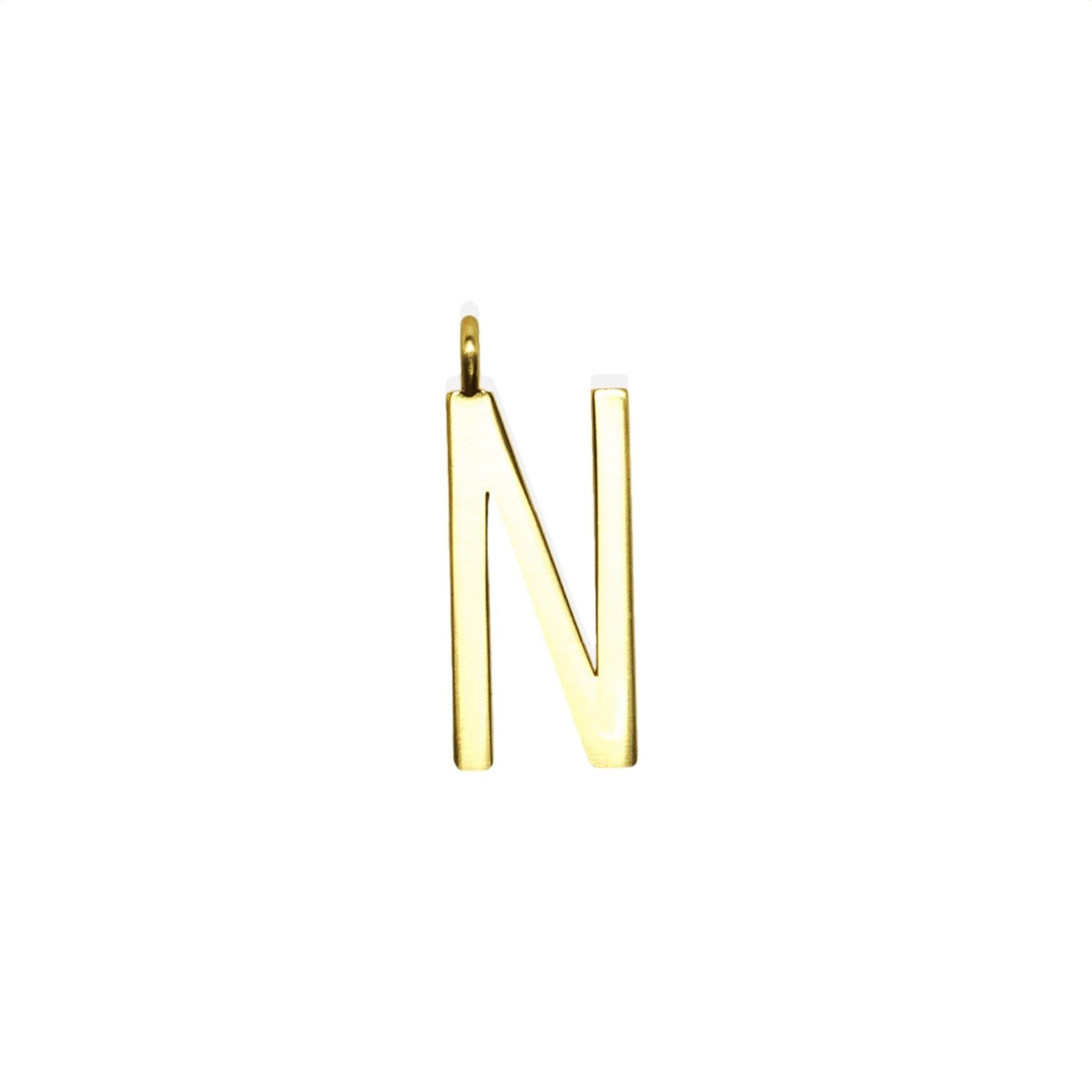 "GUM - Charms Pendente Lettera ""N"" - Gold"