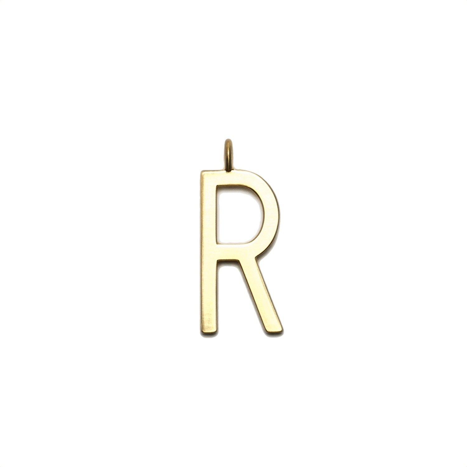 "GUM - Charms Pendente Lettera ""R"" - Gold"