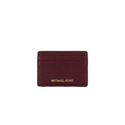 MICHAEL KORS - Card Holder - Oxblood