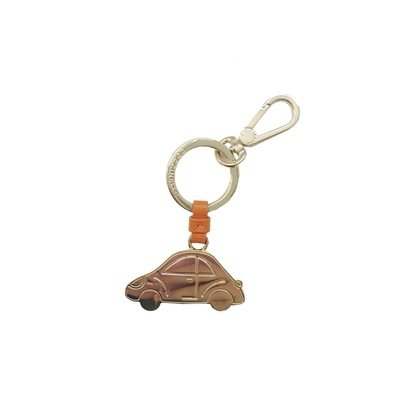 COCCINELLE - Macchina Portachiavi/Charm Basic Metal - Flash Orange