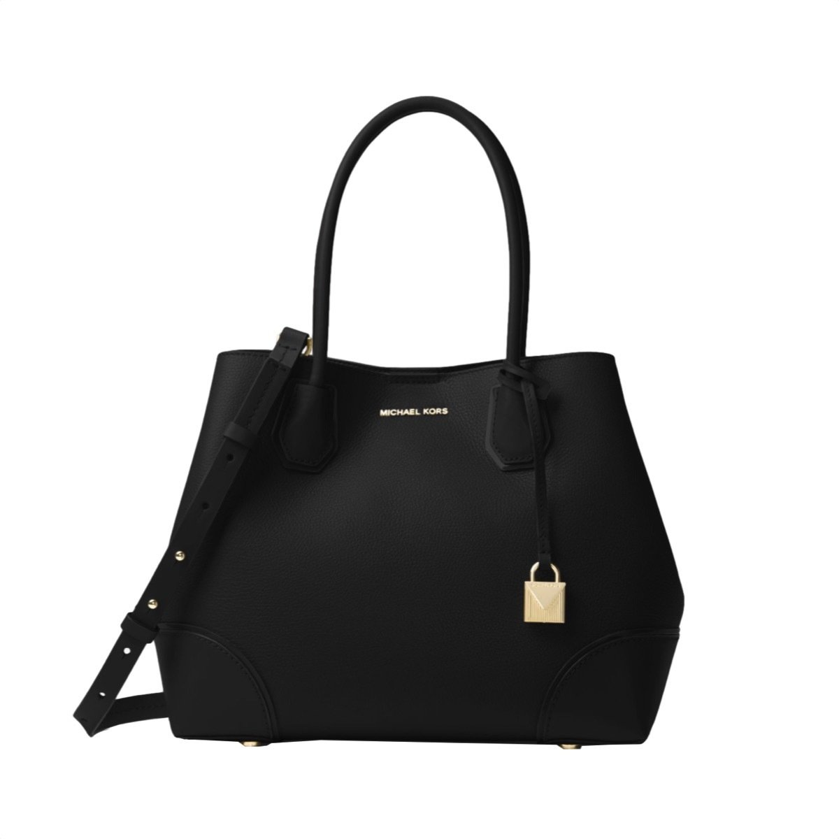MICHAEL KORS - Mercer Gallery MD Zip Tote - Black