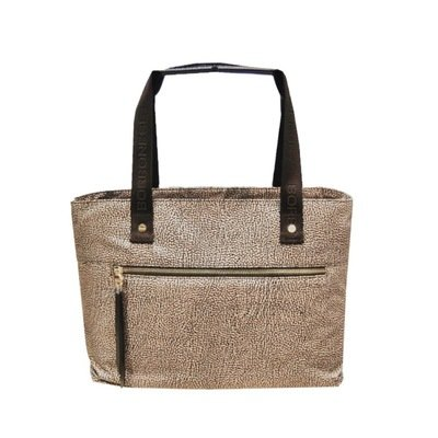 BORBONESE - Shopping Orizzontale M - OP Classic/Brown