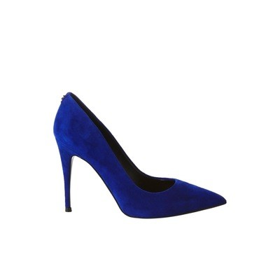 GUESS - Okley Décolleté suede - Blue