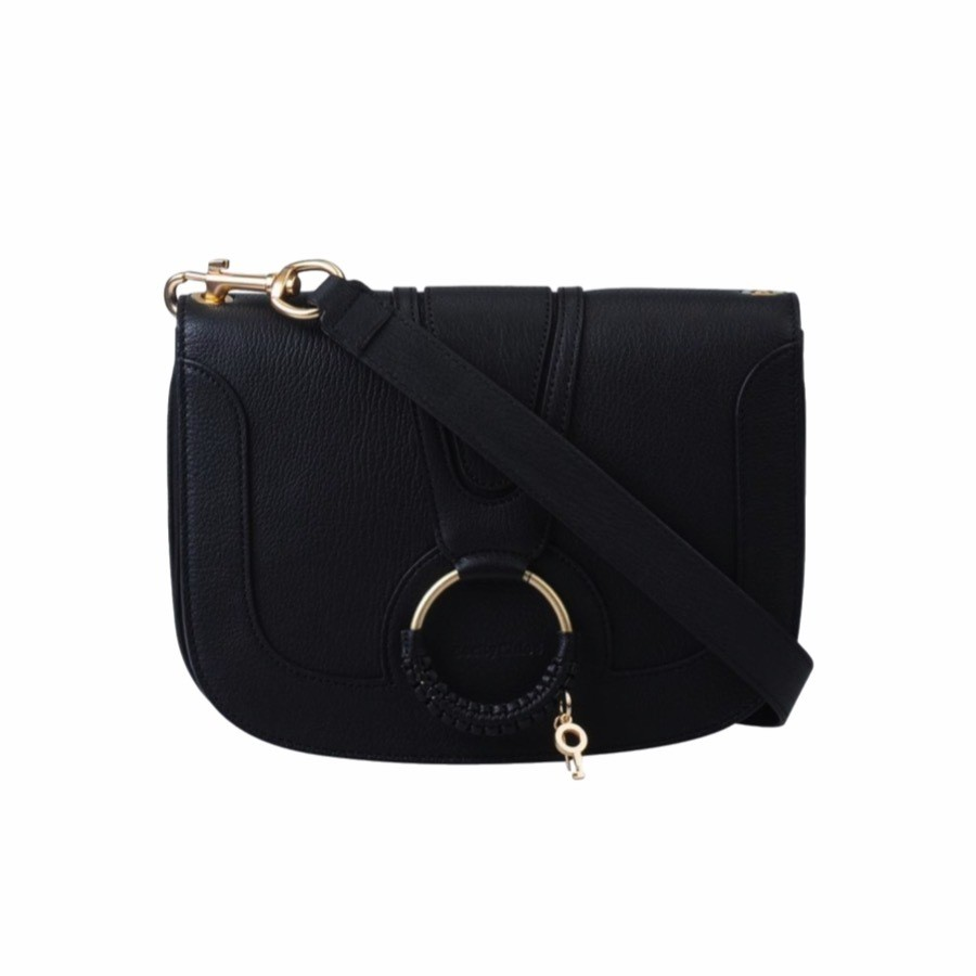 SEE BY CHLOÉ - Hana Medium Crossbody Bag - Black