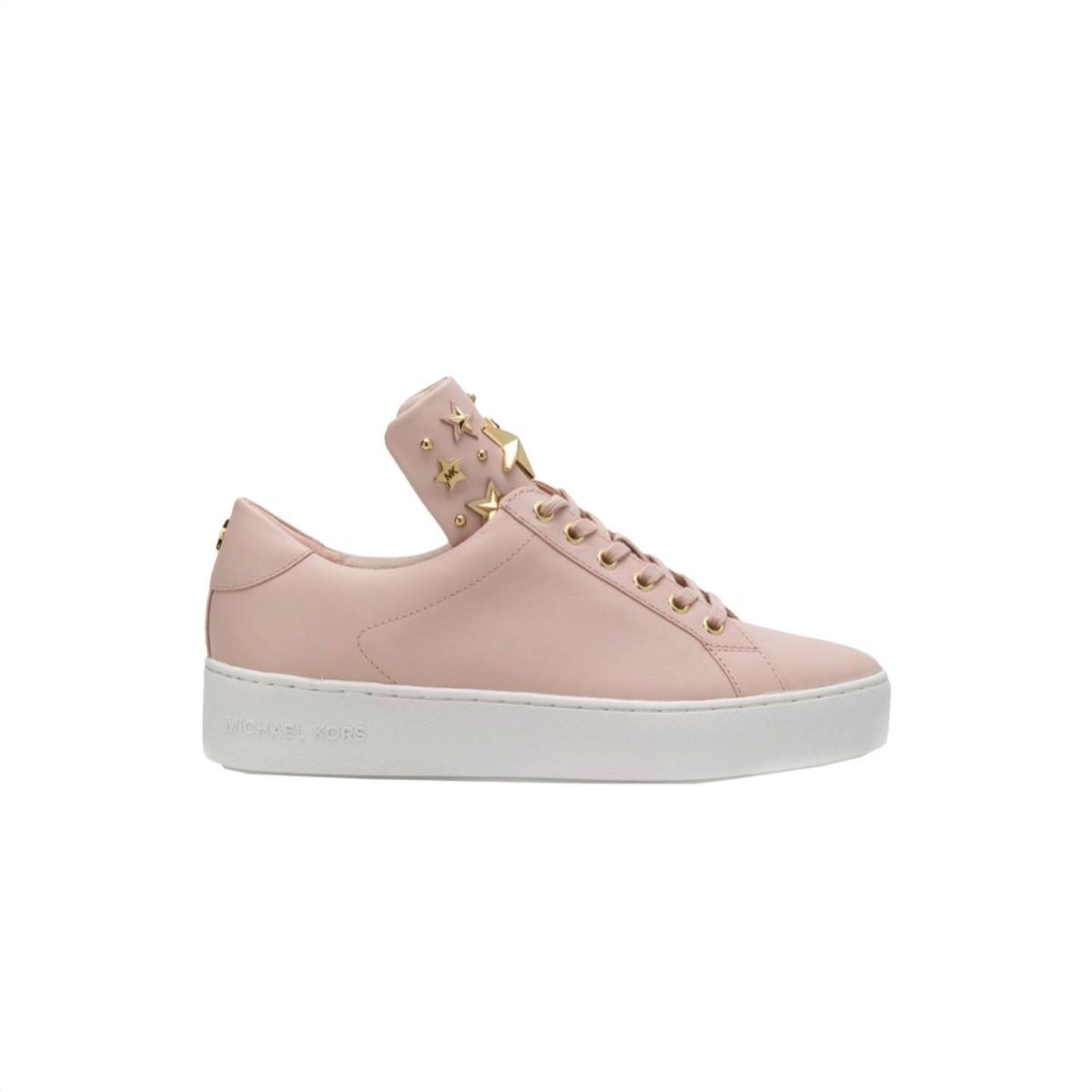 MICHAEL KORS - Mindy Lace Up - Soft Pink