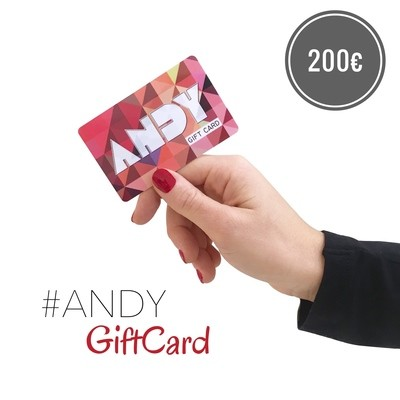 ANDY • Gift Card [200€]