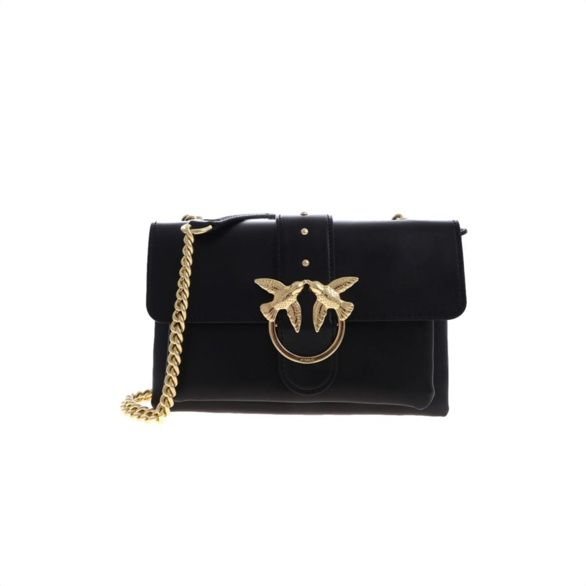 PINKO - Mini Love Bag Soft - Black