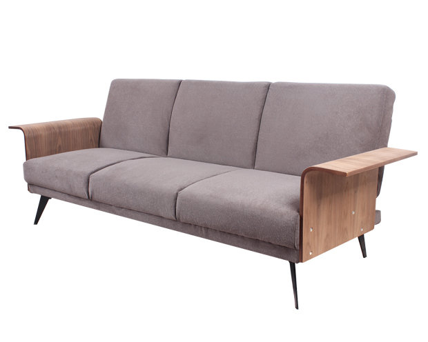 Flotti NewYork Sofa Bed (Color: Brown)