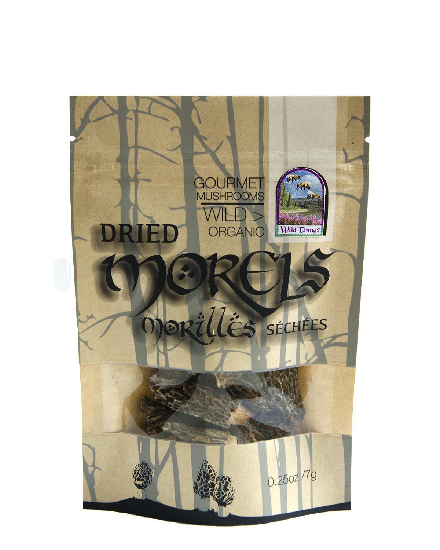 Morels (Dried, 1/4oz)