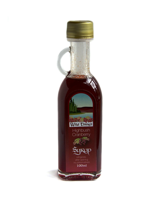 Highbush Cranberry Syrup (Small)