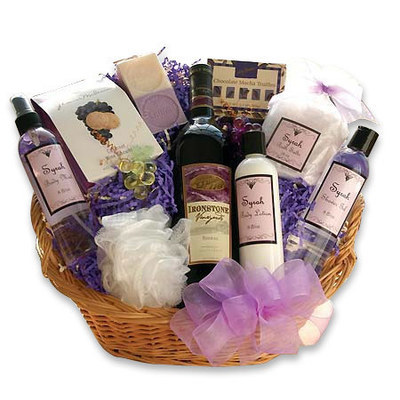 Just Because  Gift basket