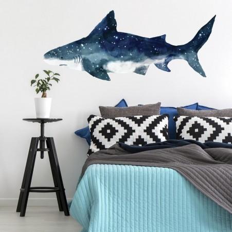 Géant requin - Aquarelle