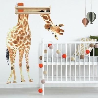 Collant mural Girafe Géante