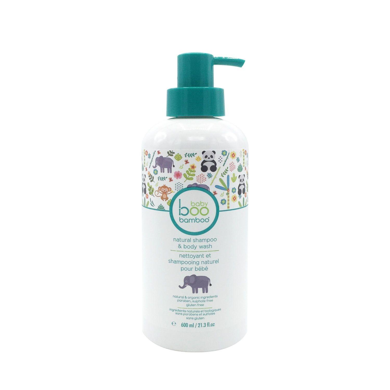Baby Boo Bamboo - Nettoyant et Shampooing naturel pour bébé - 600ml