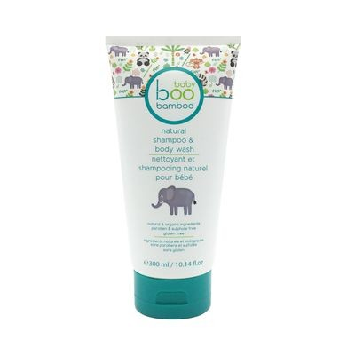 Baby Boo Bamboo - Nettoyant et Shampooing naturel pour bébé - 300ml