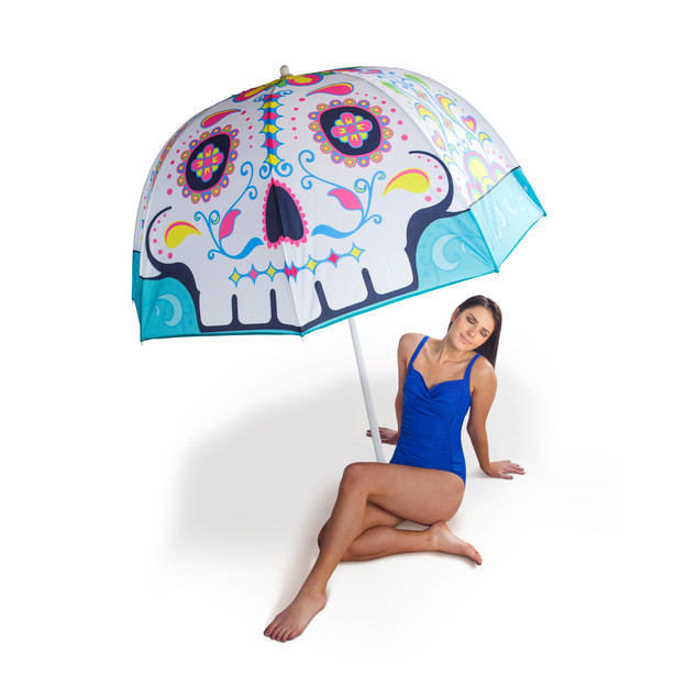Parasol - Sugar Skull