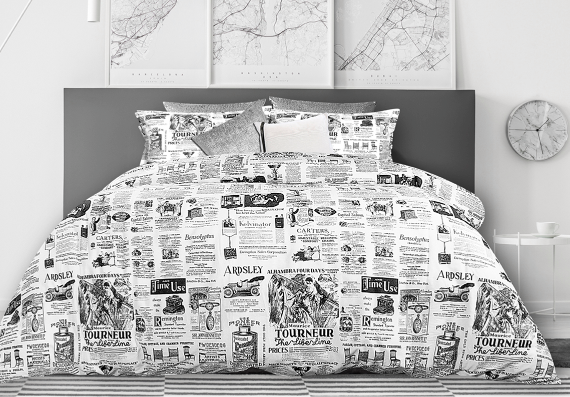 Housse de duvet Classified (Disponible en mai)