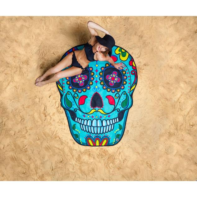 Serviette de plage - Sugar Skull