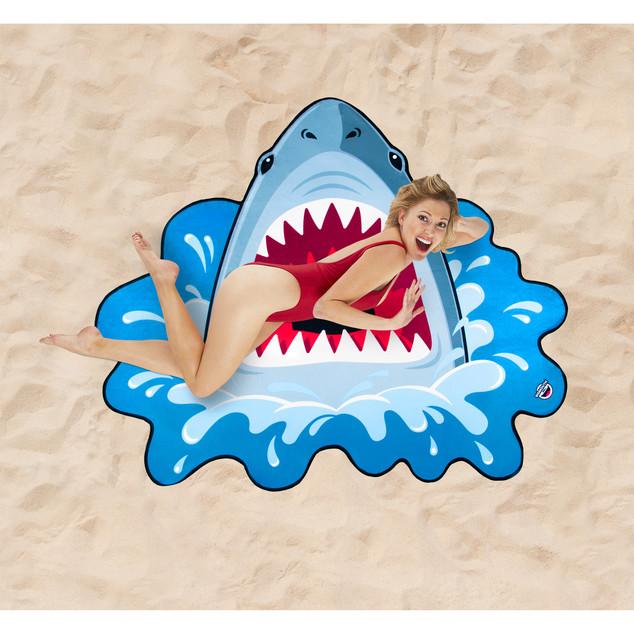 Serviette de plage - Requin