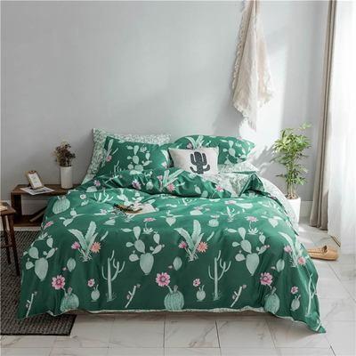 Ensemble de literie Cactus - Vert